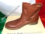 Ботинки женские кожаные фирмы Marina Seval оригинал из Италии