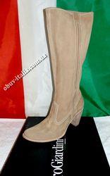 Сапоги женские кожаные фирмы Nero Giardini привезены из Италии оригина
