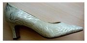 Новые туфли натуральная кремовая замша Peter Kaiser Германия 35 р 23см