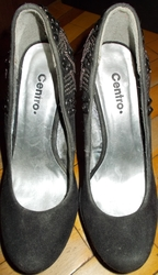 Женские туфли с круглым носком
